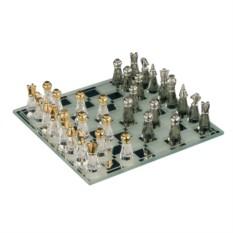 Малые шахматы из хрусталя