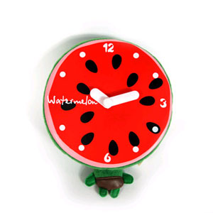 Часы арбуз