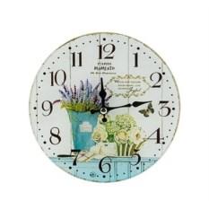 Настенные часы Лавандовый букет