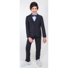 Темно-синий пиджак для мальчика Acoola Ediso