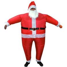 Костюм Деда Мороза надувной