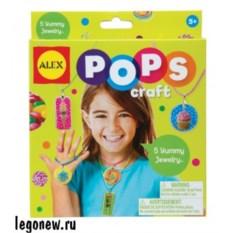 Набор для творчества POPS CRAFT Украшения любимые сладости