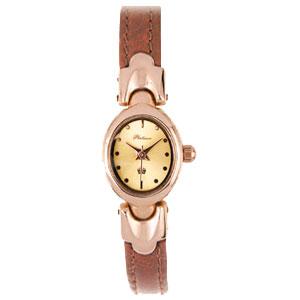 Женские золотые кварцевые часы «Марго»