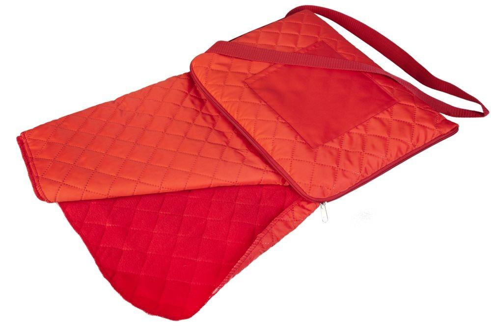 Красный плед для пикника Soft & dry