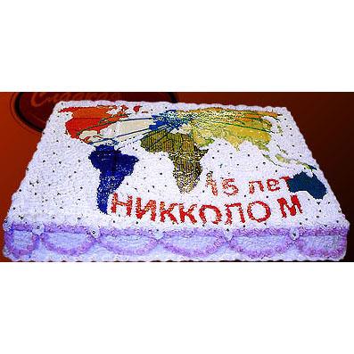 Корпоративный подарочный торт