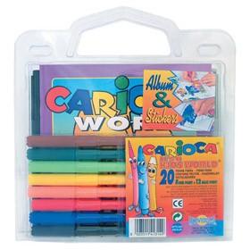 Набор для рисования carioca kids world, 21 предмет
