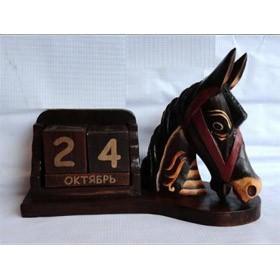 Календарь Голова лошади