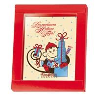 Шоколадная открытка Обезьянка