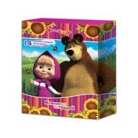 Комплект тетрадей для младшей школы «Маша и Медведь»
