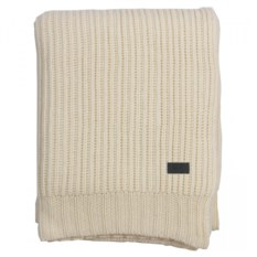 Плед rib-knit throw 130х180 см (80% шерсть 20% и полиамид)