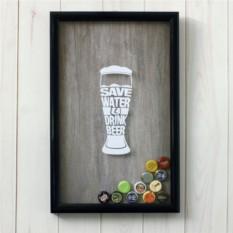 Копилка для пивных крышычек Save water Drink Beer