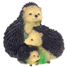 Декоративная садовая фигура Три ежика