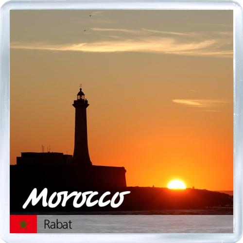 Магнит на холодильник: Марокко. Закат в Рабате