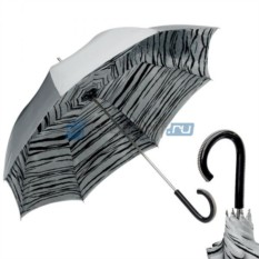 Женский зонт Pasotti Becolore Grigio Tiger Plastica Pico