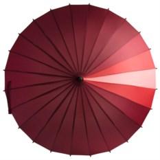 Красный зонт-трость «Спектр»