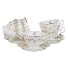 Чайный набор на 6 персон Квин мэри