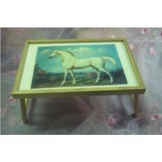 Столик для завтрака в постели Белый конь