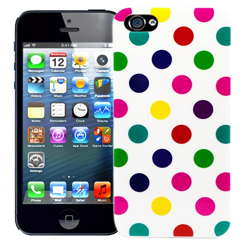Пластиковый чехол для  iPhone 5 Peas