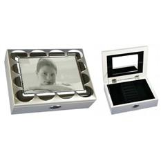 Шкатулка-фоторамка для ювелирных украшений Splendere