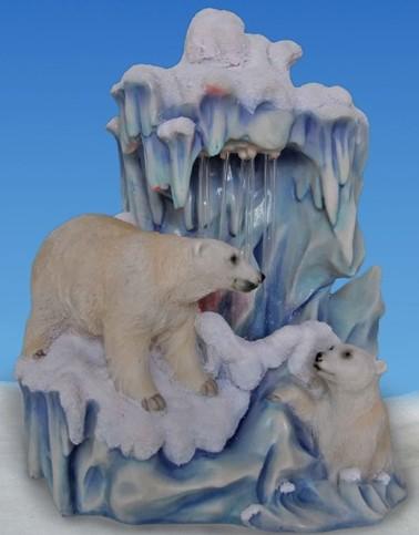 Фонтан Белые медведи