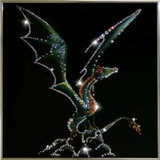 Картина со стразами Крылатый дракон