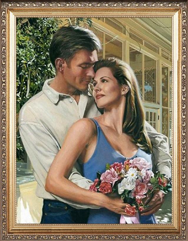 Романтичный портрет для влюбленных
