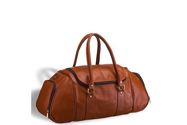 Рыжая дорожно-спортивная сумка Brialdi Modena