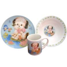 Набор детской посуды «Собачка»