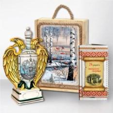 Подарочный набор Сибирь. Золотой герб