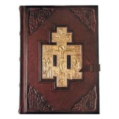 Большая книга с литьем Библия