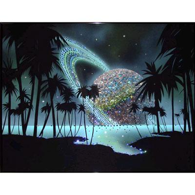 Картина из кристаллов Swarovski «Тайны вселенной»