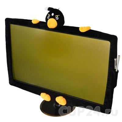 Чехол на монитор Angry birds (черный)