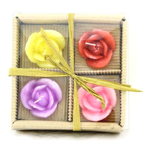 Набор свечей парафиновых «Розы»