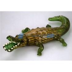 Фигурка из муранского стекла Крокодил