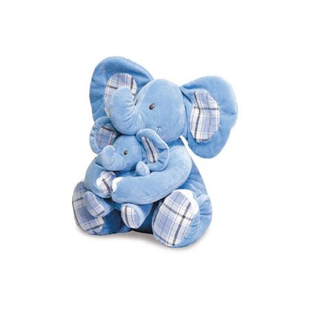 Мягкая игрушка «Мама Слониха и малыш Слонёнок»