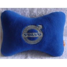 Синяя подушка-подголовник Volvo