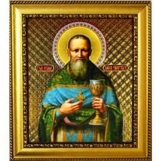 Икона литография Иоанн Кронштадтский Святой праведный