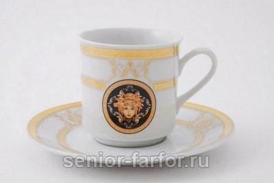 Набор чашек 0,15 л с блюдцем Leander Сабина 31036