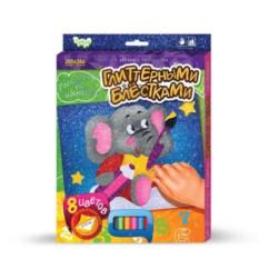 Набор для детского творчества Раскраска блестками