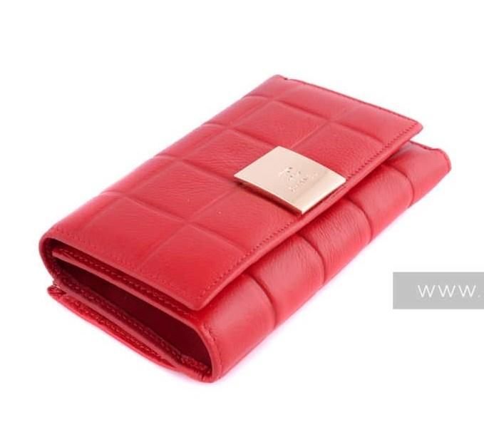 Красный женский кошелек Chanel   Женские портмоне и кошельки 6c5eb5d27f0