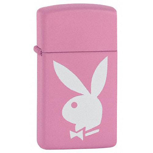 Зажигалка бензиновая Zippo Playboy Pink