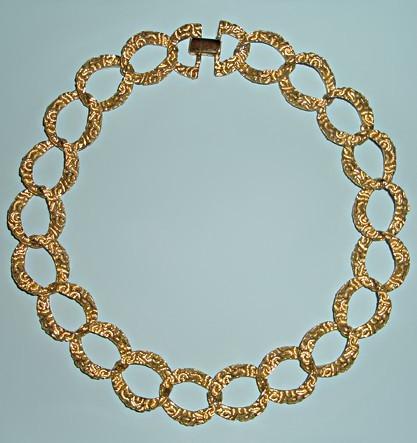 Винтажное ожерелье Napier Клеопатра
