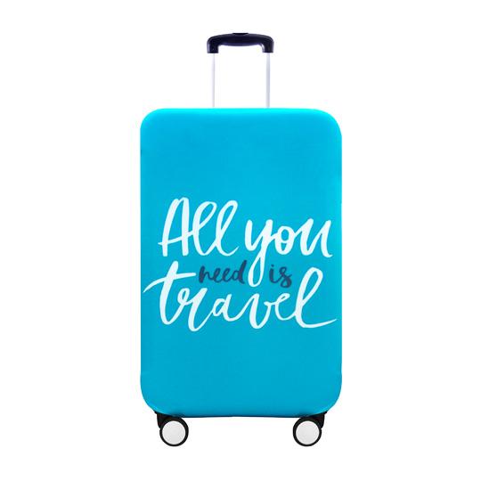 Чехол для чемодана All you need is travel