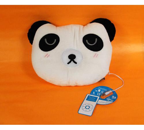 Колонка-подушка «Музыкальный Панда»