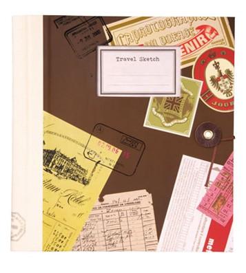 Альбом для скрапбукинга Travel Sketch – Brown