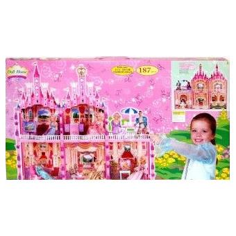 Замок для куклы с мебелью