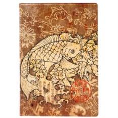 Обложка для паспорта Японская рыбка