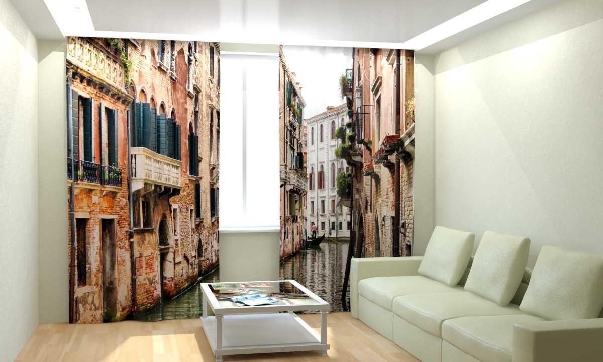 Фотошторы Канал в Венеции