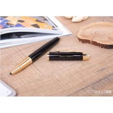 Ручка Parker IM Black с гравировкой (цвет - золото)