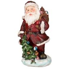 Фигурка Дед мороз (14x14x30,5 см)